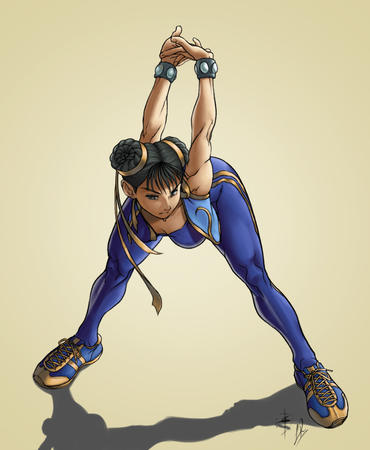 brunette chun_li street_fighter vest // 712x866 // 216.8KB