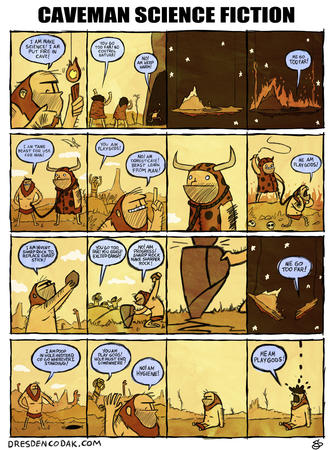caveman comic dresden_codak humor science // 960x1299 // 611.1KB