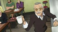 coffee glasses heroman mustache screenshot stan_lee // 1280x720 // 134.5KB