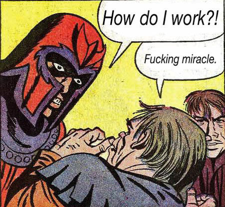 humor icp juggalo magneto magnets marvel science x-men // 452x416 // 111.9KB