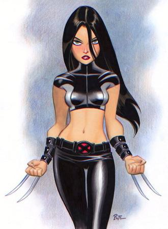 bruce_timm brunette marvel x-23 x-men // 522x711 // 197.2KB