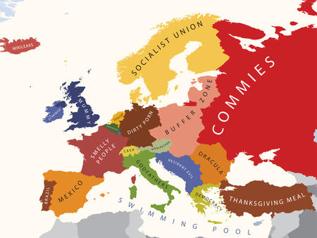 europe humor map racist // 1280x960 // 500.3KB