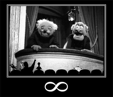 critics humor meta motivational mst3k muppet peanut_gallery statler waldorf // 450x387 // 32.4KB