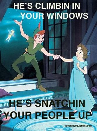 disney humor peter_pan rape_jokes tinkerbell wendy // 350x473 // 43.4KB