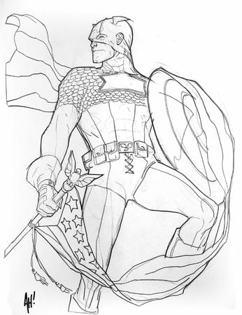 adam_hughes bw captain_america flag marvel shield // 639x832 // 154.1KB