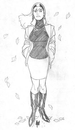 blonde boots bw gwen_stacy marvel skirt spider-man sweater // 510x880 // 61.6KB