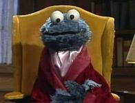 cookie_monster sesame_street smoking_jacket // 300x229 // 11.0KB