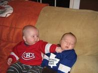 baby canada canadiens hockey maple_leafs montreal punch toronto // 700x524 // 55.2KB
