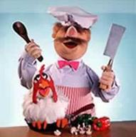 chef chicken cleaver muppet mustache // 223x224 // 6.5KB