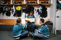 book douglas_murray hockey home_jersey joe_thornton patrick_marleau san_jose sharks the_very_hungry_caterpillar // 604x402 // 65.6KB