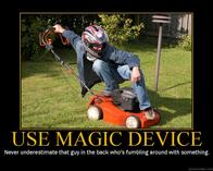 dnd helmet jeans lawnmower motivational use_magic_device // 750x600 // 128.7KB
