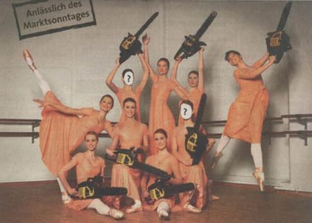ballet chainsaw dress group photo // 972x694 // 75.4KB