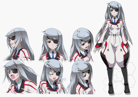 boots composite eyepatch gray_hair infinite_stratos laura_bodewig long_hair uniform // 780x550 // 95.0KB