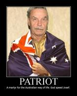 australia flag josef_fritzl motivational patriot // 600x750 // 73.5KB