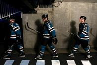 abbey_road douglas_murray hockey home_jersey joe_pavelski logan_couture san_jose sharks // 715x477 // 68.2KB