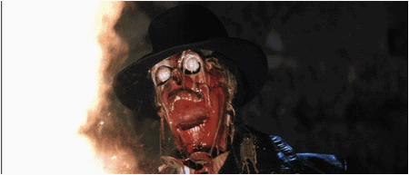 animated fire glasses hat indiana_jones nazi reaction skull // 450x193 // 341.9KB