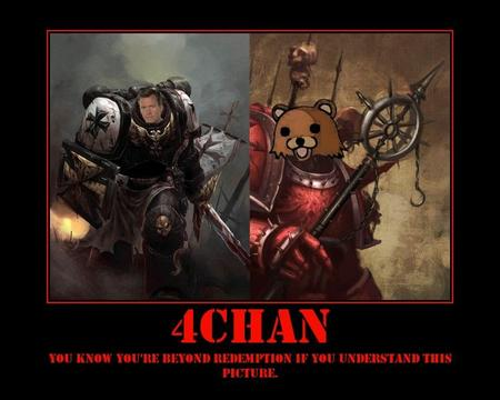 4chan chaos chris_hansen humor internet motivational pedober space_marine wh40k // 750x600 // 63.1KB
