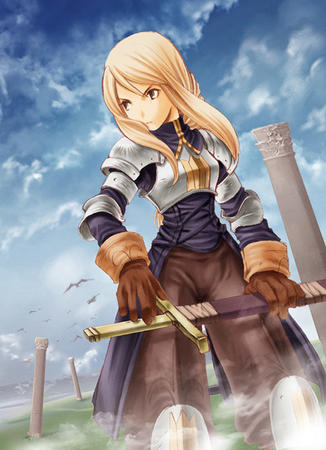 agrius armor blonde fft final_fantasy sword // 500x690 // 104.9KB