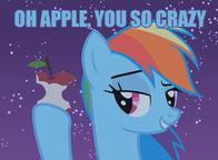 apple macro my_little_pony you_so_crazy // 768x564 // 55.2KB