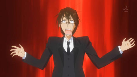 butler glasses mayo_chiki reaction screenshot suit // 1280x720 // 71.1KB