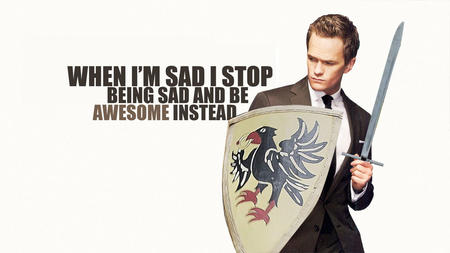 awesome niel_patrick_harris shield suit sword // 1024x576 // 77.3KB