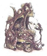 dnd gibbering_mouther tony_diterlizzi // 497x591 // 378.3KB