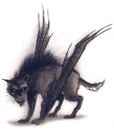 bat dnd tony_diterlizzi wings wolf // 497x591 // 245.0KB