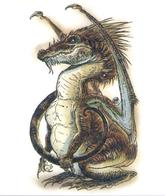 dnd dragon tail tony_diterlizzi wings // 497x591 // 332.2KB