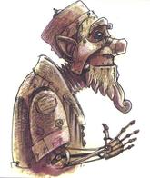 automaton beard dnd hat tony_diterlizzi // 497x591 // 343.3KB