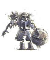 axe beard boots dnd shield tony_diterlizzi undead // 497x591 // 215.0KB