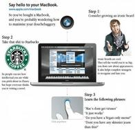 apple hipster mac macbook starbucks // 500x479 // 48.0KB