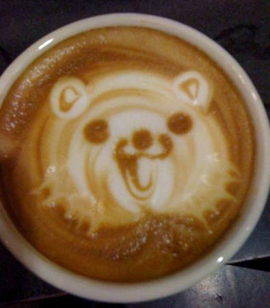 coffee pedobear photo // 590x673 // 65.3KB