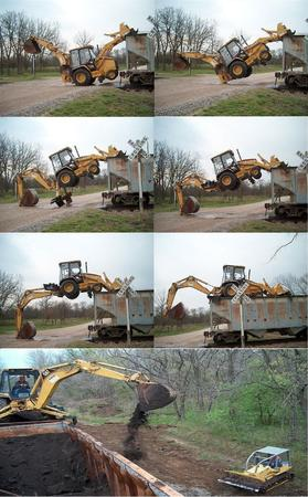 back_hoe composite loader photo tractor // 996x1605 // 1.3MB