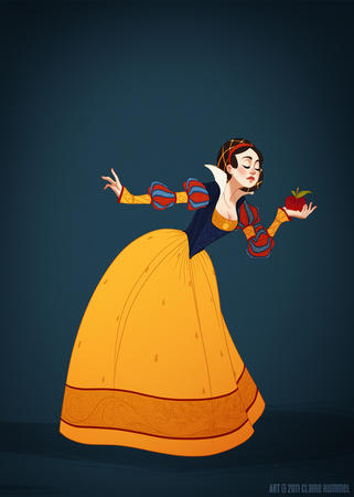 apple brunette disney dress snow_white // 821x1152 // 281.6KB