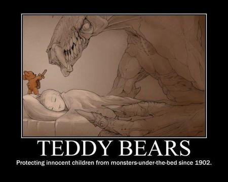 bed monster motivational sword teddy_bear // 720x576 // 43.2KB