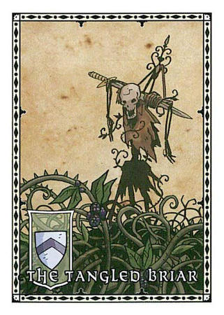 briar card harrow paizo pathfinder scarecrow skeleton sword // 375x525 // 61.1KB