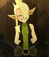blonde braids cleophee cra screenshot smile wakfu // 496x576 // 39.6KB