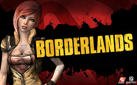 borderlands cleavage desktop lilith pink_hair vest // 1920x1200 // 1.1MB