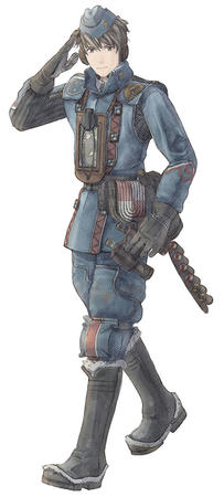 boots gloves hat uniform valkyria_chronicles // 450x1000 // 69.8KB
