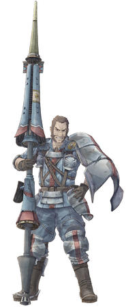 boots gloves lance mutton_chops pauldrons uniform valkyria_chronicle // 550x1340 // 105.1KB