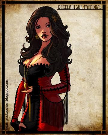 berelain brunette cleavage dress wheel_of_time // 680x850 // 160.3KB