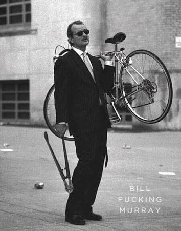 bicycle bill_fucking_murray bill_murray bolt-cutter bw necktie photo suit sunglasses // 450x572 // 59.2KB