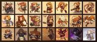 alma chemist dancer dark_knight fft final_fantasy geomancer knight mediator mimic mystic ninja onion_knight samurai squire summoner thief white_mage // 850x374 // 138.5KB