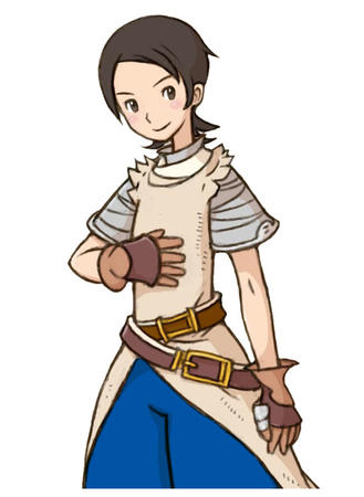 brunette fft final_fantasy gloves hume short_hair // 600x820 // 52.8KB