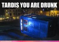 doctor_who drunk macro tardis // 500x354 // 275.9KB