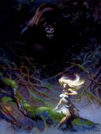 blonde frank_frazetta gorilla jungle // 524x700 // 89.6KB