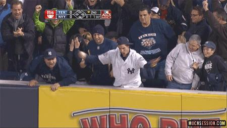 animated classy fans reaction yankees // 640x360 // 3.0MB