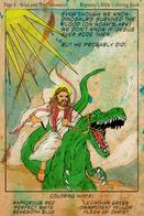 beard dinosaur jesus robe sandals // 950x1424 // 389.4KB