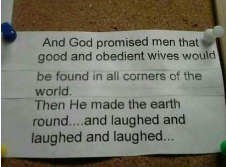god humor misogynist photo sign // 500x370 // 27.7KB