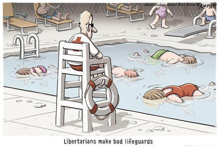 humor libertarian lifeguard political pool // 819x600 // 100.5KB